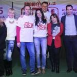 Ekipa Radio Užica i Jelena Vasović, direktorka GKC