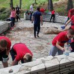 Rekonstrukcija i sređivanje mauzolejskog kompleksa na ostrvu Vido